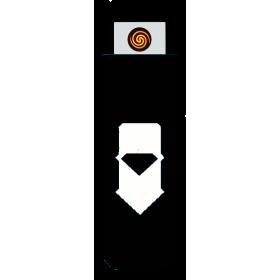 EKOLIGHTER - černý/bílý