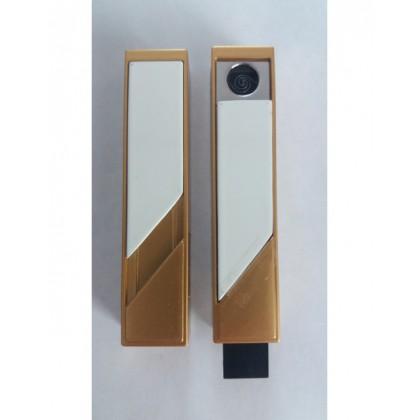 Zapalovač EKOLIGHTER zlatý / bílý - dámský