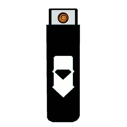 EKOLIGHTER - černý / bílý